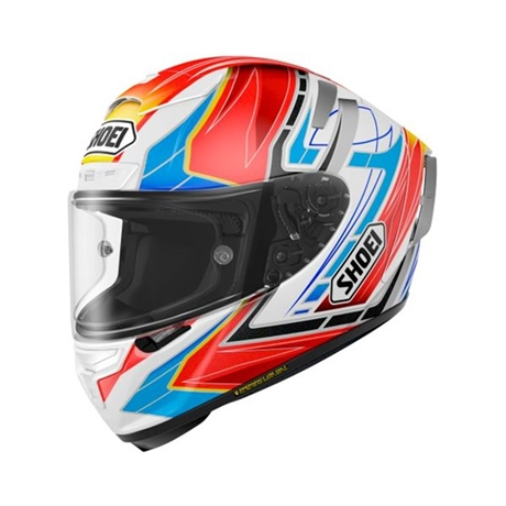 MC HJÄLM SHOEI X-SPIRIT 3 ASSAIL TC-10