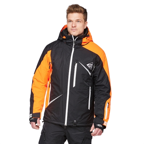 Skoterjacka Sweep Scout Snowmobile Orange/Svart