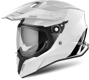 MC Hjälm Airoh Commander White Gloss 35f859e08e85b