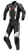 Skinnställ Alpinestars GP Force 2PCS Svart/Vit