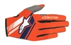2-Pack Alpinestars handskar Neo, fl orange/m.blå
