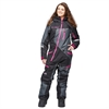 Skoteroverall Sweep Snow Queen 2 ladies insulated suit Svart/Grå/Rosa